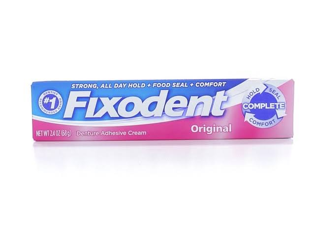 Fixodent Original Denture Adhesive Cream - 2.4oz