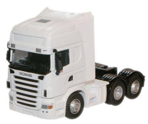 Oxford Diecast 96725 Scania Cab - White, OO Gauge, 1/76 Scale