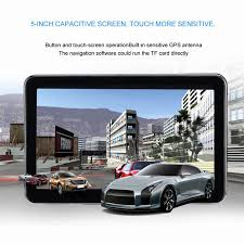 100 Commercial Gps For Trucks Portable 5 Inch Touch Screen Car Units BuiltIn Antenna