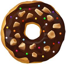 Chocolate clipart donut 12