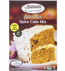 Cake Mix And Pumpkin Puree Muffins by Amazon Com Namaste Foods Gluten Free Spice Cake Mix 26 Ounce