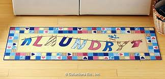 Laundry Room Rugs Mats Laundry Room fort Mat Novelty Rugs