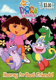 1146971 Nick Jr Dora The Explorer Hooray For Best Friends