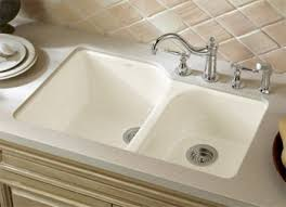 Kohler Strive 32 Sink by Double Bowl Kitchen Sinks Faucetdepot Com