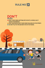 Road Safety Rules RULE No:13 Be Seen, Stay Safe | Road Safety ...