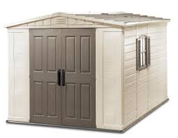 keter fortis 8x11 plastic storage shed 17182788 on sale now
