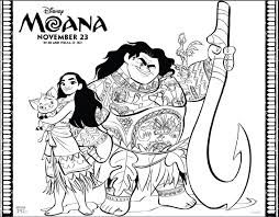 Colouring Pages For Moana Free Coloring Sheets Disneys Beauty Through Imperfection