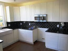 backsplash images white brick tiles commercial kitchen faucet how