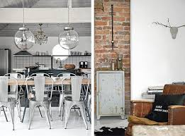 Contrasting 1930s villa with an industrial & vintage décor