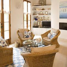 Nautical Living Room Sofas by Beach Living Room Decorating Ideas Southern Living
