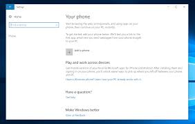 How to Sync Your Phone With Windows 10