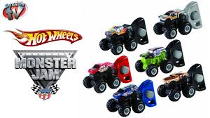 100 Monster Jam Toy Truck Videos Hot Wheels Mighty Minis Grave Digger Twin Pack