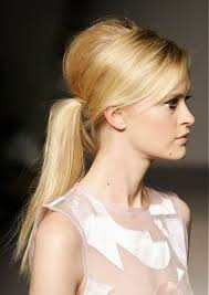 Casual Vintage Ponytail 2017 Half Updo Hairstyle
