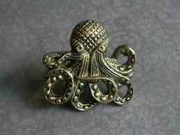 Fleur De Lis Cabinet Knobs by Cast Iron Octopus Knob Kraken Door Knob Cast Octopus Cabinet