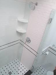 subway tiles for contemporary bathroom design ideas black subway