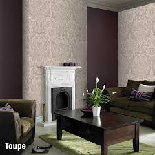 Taupe Living Room Ideas Uk by Living Room Feature Wallpaper Uk Centerfieldbar Com