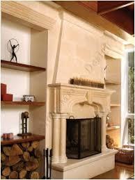 marblefireplacemantle  handcrafted Indiana limestone