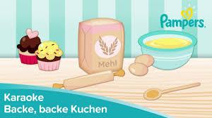 backe backe kuchen kinderlieder zum mitsingen pers