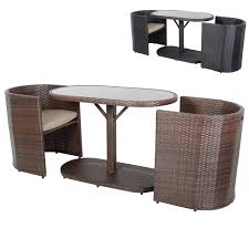 Buy Latina 2-Seat Rattan Garden Bistro Set Online | XS Stock Shop Aleko Wicker Patio Rattan Outdoor Garden Fniture Set Of 3 Pcs 4pc Sofa Conservatory Sunnydaze Tramore 4piece Gray Best Rattan Garden Fniture And Where To Buy It The Telegraph Akando Outdoor Table Chair Hog Giantex Chat Seat Loveseat Table Chairs Costway 4 Pc Lawn Weston Modern Beige Upholstered Grey Lounge Chair Riverdale 2 Bistro With High Webetop Setoutdoor Milano 4pc Setting Coffee