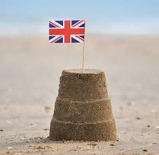 British Sandcastle Simple Sand Castles Foto Von Whit