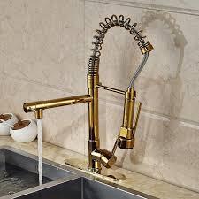 Menards Gold Bathroom Faucets by Kitchen Faucet Adorable Gold Gooseneck Faucet Copper Faucet