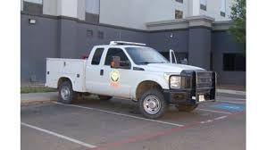 100 Service Truck Amarillo Crime Stoppers Looking For Suspects In Texas AM Forest