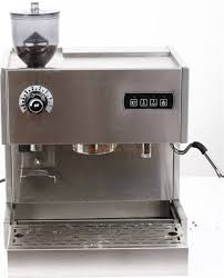 Semi Automatic Commercial Thermo Block Dual System Screen Espresso Coffee Machine 15 Bar With