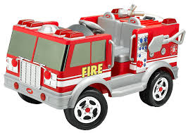 Creative Fire Truck Toy With Doors That Open Feature Toys Lego Fire ...