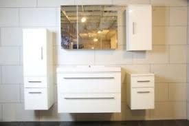 weiße badmöbelsets mit hochglanz und spiegelschrank günstig