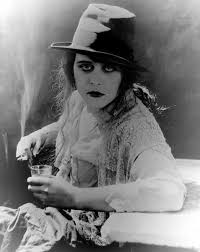 Theda Bara Demonstrates Various Bad Habits Lest You Ever Doubted Her