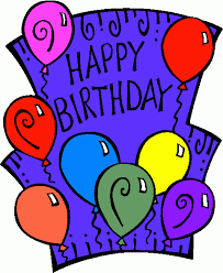 Happy Birthday Clip Art Animated With Song