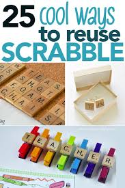 25 Super Cool Uses For Old Scrabble Games Pieces