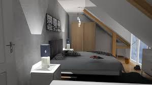 chambre dans comble 3d chambre sous comble