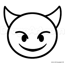 EMOJI COLORING Pages Free Download Printable For Angry Face Coloring Page