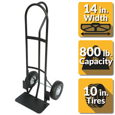 OLYMPIA 800 Lbs. Capacity Hand Truck With Pneumatic Wheels-85-032 ...
