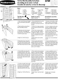 rubbermaid fg374901olvss instructions assembly