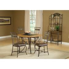 Hillsdale Furniture Lakeview 5 Piece Brown Copper Dining Set