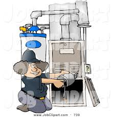 Broken Furnace Clipart