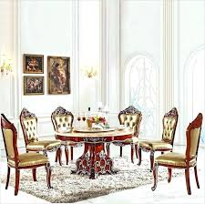 Italian Dining Set Room Sets Antique Style Table Solid Wood