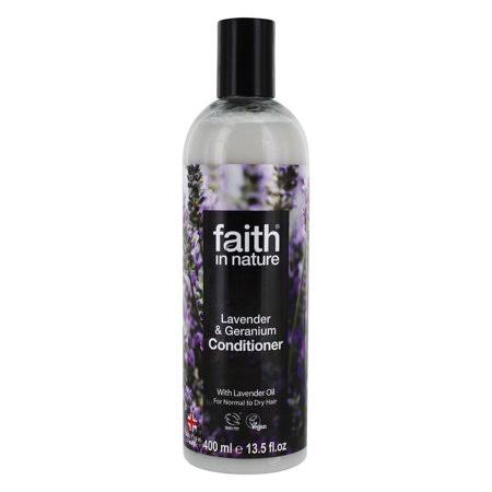 Faith in Nature Lavender and Geranium Conditioner - 400ml