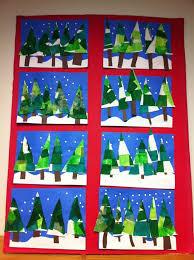 Christmas Art Ideas For Kinder
