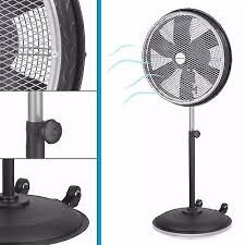 High Velocity Floor Fan Chrome by Industrial Grade High Velocity Stand Floor Pedestal Fan Black