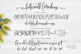 Since Buttermilk Farmhouse Made Me Stop In My Tracks Im Sharing It With You Today For Font Friday What Are Your Thoughts On The Trend Craze