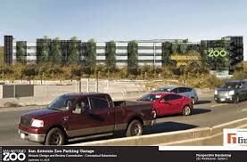 100 Trucks Unlimited San Antonio Zoo To Obtain Concept Approval On New Parking Garage