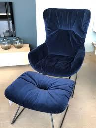 hochlehner sessel mit hocker leya wingback chair freifrau