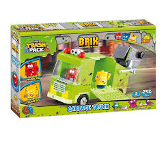 Cobi Trash Pack Brix Garbage Truck - Brands For Less Bruder Man Tga Side Loading Garbage Truck Orangewhite 02761 Buy The Trash Pack Sewer In Cheap Price On Alibacom Trashy Junk Amazoncouk Toys Games Load N Launch Bulldozer Giochi Juguetes Puppen Fast Lane Light And Sound Green Toysrus Cstruction Brix Wiki Fandom Moose Metallic Online At Nile Glow The Dark Brix For Kids Wiek Trash Pack Garbage Truck Mllauto Mangiabidoni Camion