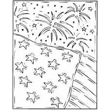 FREE Coloring Pages Check Out This Fireworks And Flag Page Click On