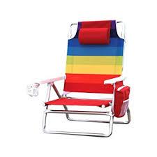 amazon com nautica beach chair rainbow garden outdoor