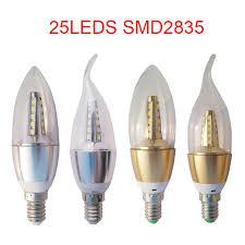 1 pcs new year e14 led candle bulb energy saving l light bulb