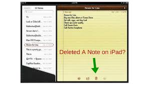 3 Solutions for Retrieving Deleted or Missing Notes on iPad